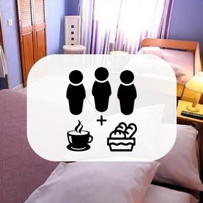 Chambre Triple avec 3 petits-déjeuner